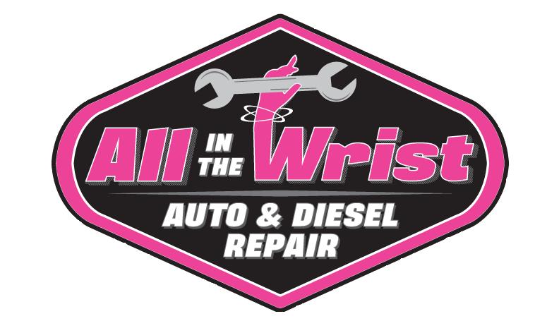 all in the wrist albuquerque auto repair services logo